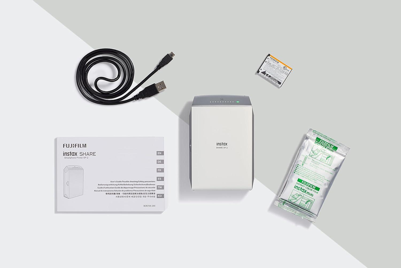 Fujifilm Instax Share SP-2 Impresora de Foto Inyección de ...