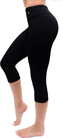 COMPRESSIONZ Compression Capri Leggings for Women - Yoga Capris, Running Tights, Gym Pants
