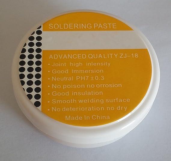 SFTlite 30g pasta de soldadura - soldadura Flux estaño - este fundente para soldadura de alambre de metal lata: Amazon.es: Bricolaje y herramientas