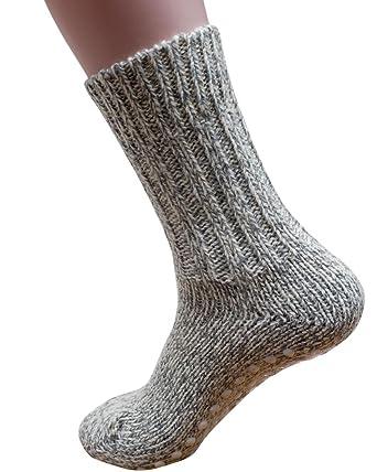 Wählen Sie für echte Waren des täglichen Bedarfs neueste art Hirsch Natur Norweger Stopper Socken, 100% Wolle (kbT)