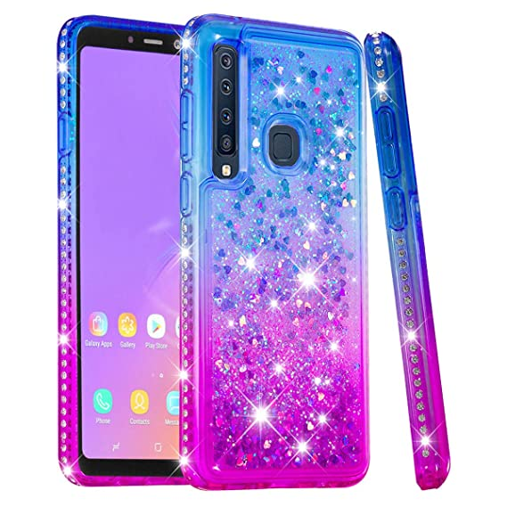 Amazon.com: Samsung Galaxy A9 2018 - Carcasa con purpurina ...