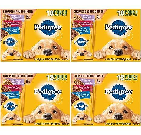 Bolsas de comida para perro mojado con diseño de plisado ...