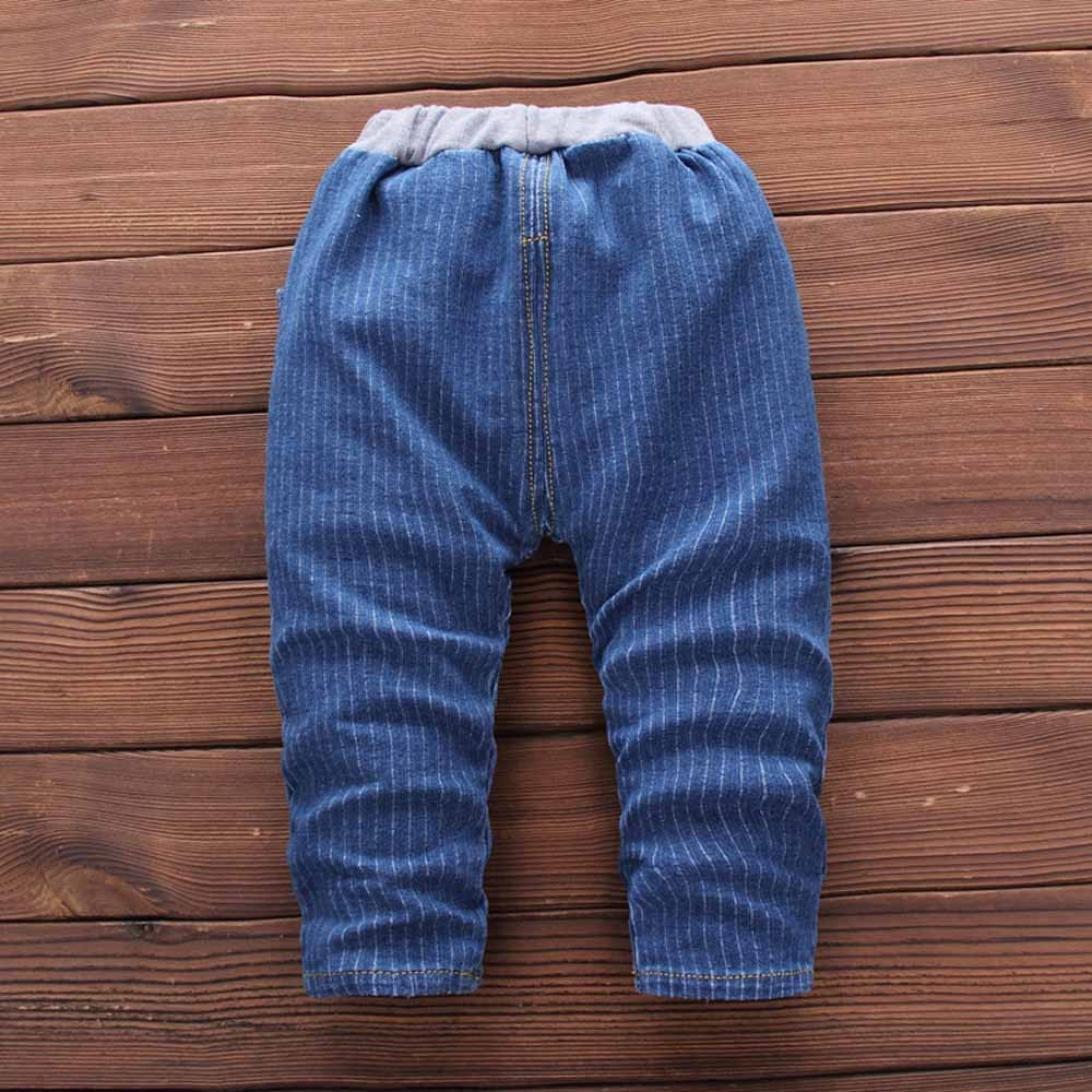 Kobay Kleinkind Kind Baby Jungen Outfits Streifen Pullover T-Shirt Tops Hosen Kleidung Set