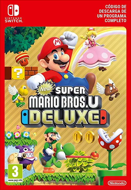 New Super Mario Bros U Deluxe: Amazon.es: Videojuegos