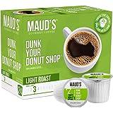 Maud's Donut Shop Coffee (Dunk Your Donut Shop), 24ct. Solar Energy Produced Recyclable Single Serve Light Roast Donut Shop C