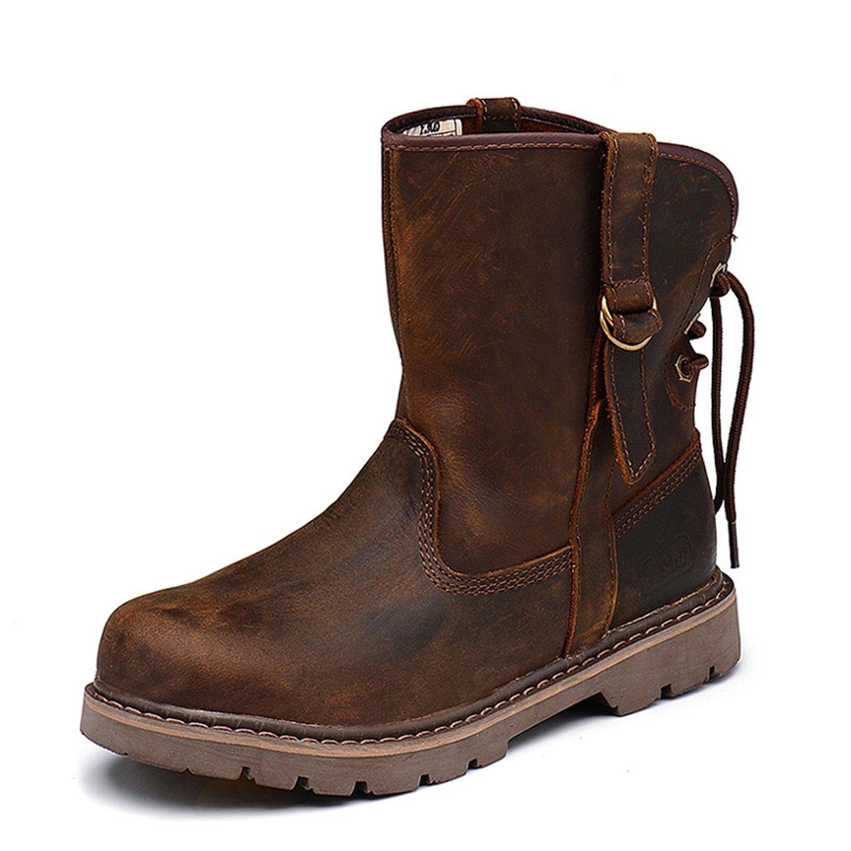 Z.SUO Mode B073T29FM9 Cuir Boots,Bottes Femme plus 16263 Homme Mixte Adulte Marron plus velours e9593b5 - latesttechnology.space
