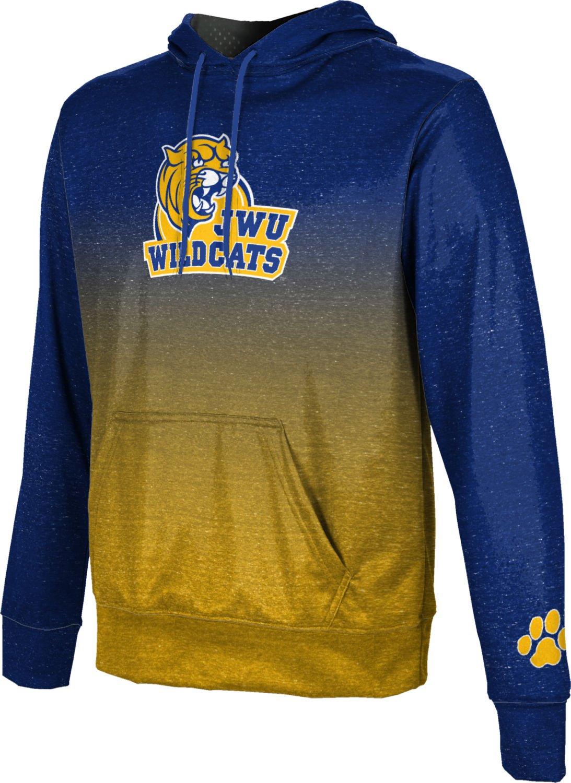 ProSphere Johnson & Wales University Boys' Pullover Hoodie, School Spirit Sweatshirt (Gradient) FEA9 Blue and Gold