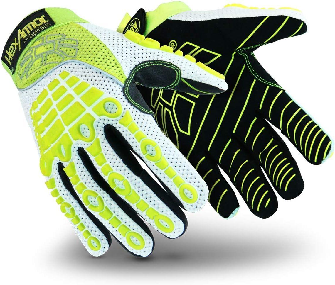 3X-Large HexArmor Chrome Series 4030 Cut Resistant Breathable Summer Work Gloves
