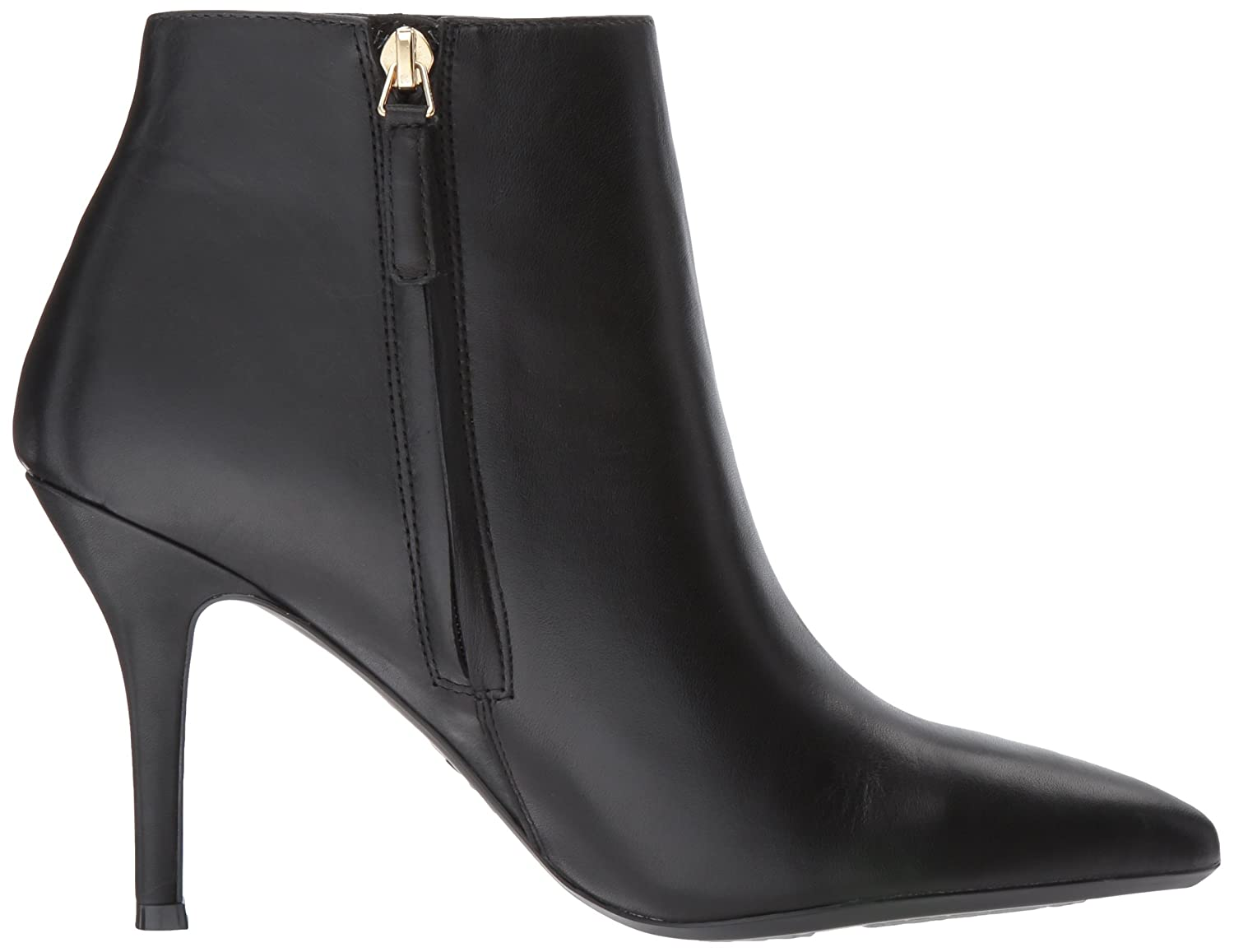 Nine West Women's Front9x9 B01MSU7CE9 10.5 B(M) US|Black/Black Leather