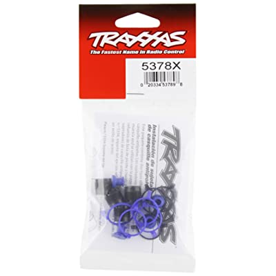 Traxxas 5378X Pivot Ball Caps and Dust Boots (set of four): Toys & Games [5Bkhe2006340]