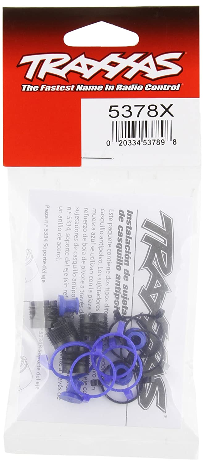 Amazon.com: Traxxas 5378X Pivot Ball Caps and Dust Boots (set of four): Toys & Games
