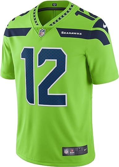 all green seattle seahawks jersey