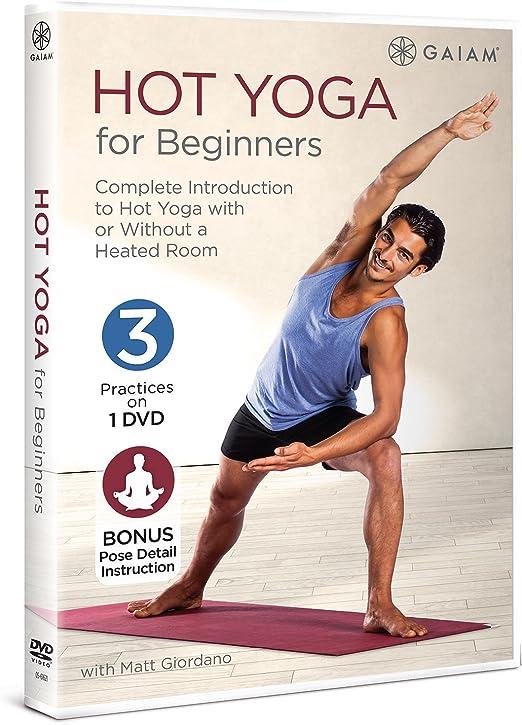 Hot Yoga For Beginners Amazon Co Uk Dvd Blu Ray