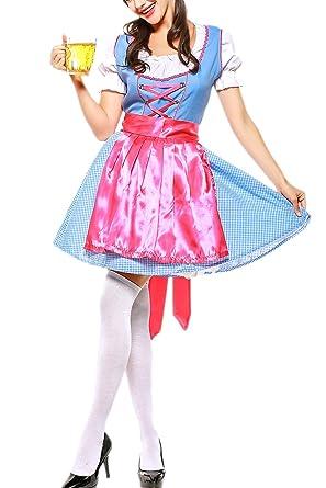 Zonsaoja Disfraces Mujer Tradicional Alemana Oktoberfest ...