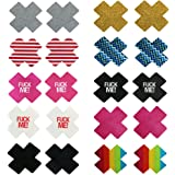 Sexy Satins Disposable Pasties Nipple Cover Sticker Lingerie Pasties (10pairs5)