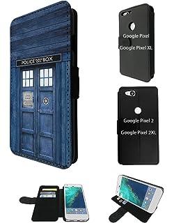 000567 - Doctor Who Tardis Police Call Box Design Google Pixel 2 XL 6.0