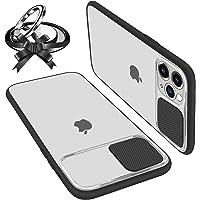 UNIOTEK Funda con Tapa Deslizable para Cámara Compatible con iPhone 11 Pro MAX Funda Protectora Antigolpe Carcasa PC y…