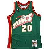 Amazon.com : Mitchell & Ness Gary Payton 20 Replica Swingman NBA ...