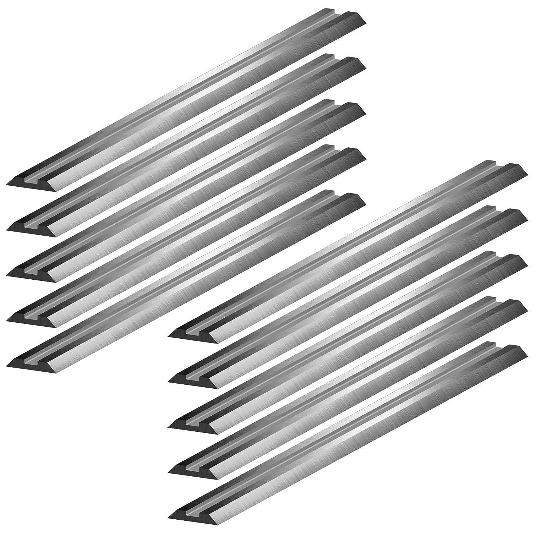 10 HSS Wendemesser 82 x 5,5 x 1 mm Ersatzmesser f/ür Elektrohobel