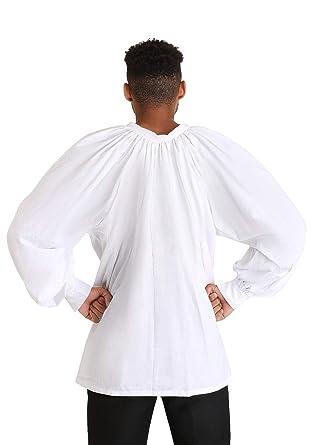 5e404dcfac91e5 Amazon.com: Fun Costumes Renaissance Fair Men's Peasant Shirt: Clothing