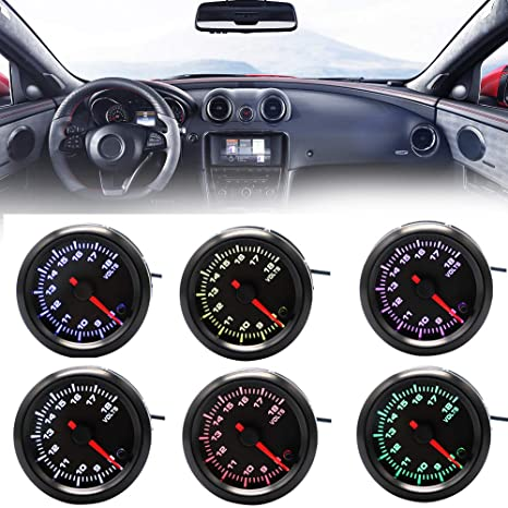 Car Interior Parts >> Hsgbvicts Car Voltage Gauge Car Interior Parts Voltmeter