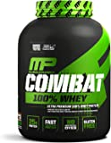 MusclePharm Combat 100% Whey, Muscle-Building Whey Protein Powder, Chocolate Milk, 5 Pounds, 68 Servings