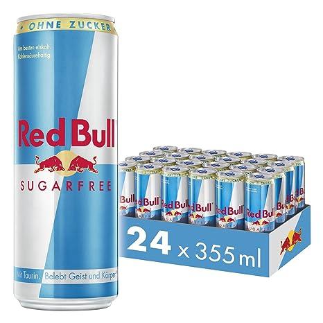 Red Bull Energy Drink Sugarfree 24 x 355 ml Dosen Getränke ...