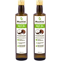 Meavita Aceite Mct, Paquete de 2 (2 X 500 ml) 1000 ml