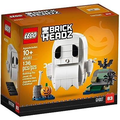 LEGO BrickHeadz Halloween Ghost 40351 Building Kit (136 Pieces): Toys & Games