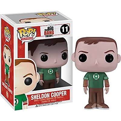 Funko POP Television: Sheldon Cooper Green Lantern Vinyl Figure,Colors May Vary: Funko Pop! Television: Toys & Games