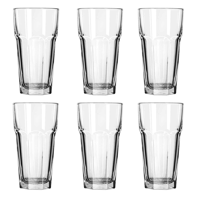 Gibraltar Tall Iced Tea Tumbler Glasses 22 oz. (12 Cup)