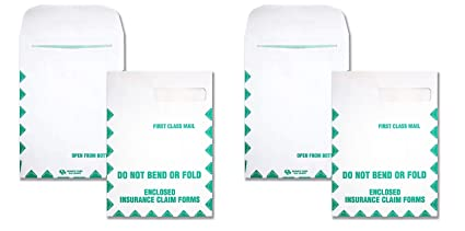 54692 Redi-Seal White, HCFS-1508 Window Envelopes First Class 2 X Pack of 100 Quality Park