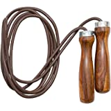 Viper Leather Skipping Rope Fitness Boxing Jump Gym Boxing