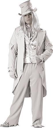 InCharacter Costumes Menu0027s Ghostly Gent Costume Gray XX-Large  sc 1 st  Amazon.com & Amazon.com: InCharacter Costumes Menu0027s Ghostly Gent Costume Gray ...
