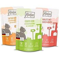 MjAMjAM Natural Wet Cat Food Snackbox para Gatos, 125 g (Paquete de 12), 1500