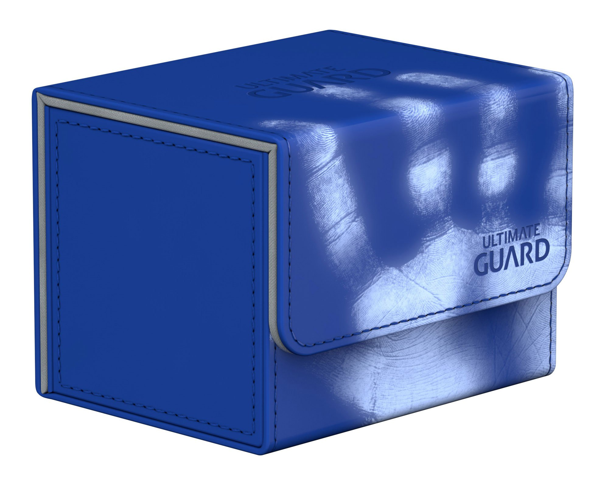 Ultimate Guard Deck Box: Sidewinder 100+ ChromiaSkin Blue by Ultimate Guard