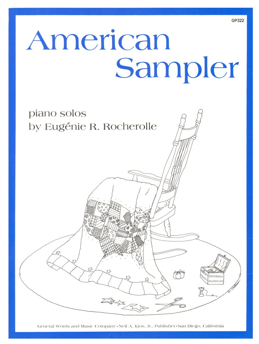 Read Online GP322 - American Sampler piano solos ebook