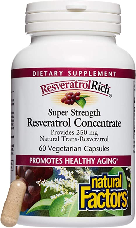 Amazon Com Resveratrolrich By Natural Factors Super Strength