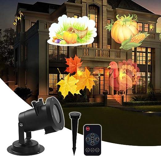 Amazon.com: Proyector de luz LED, luz de proyección de ...