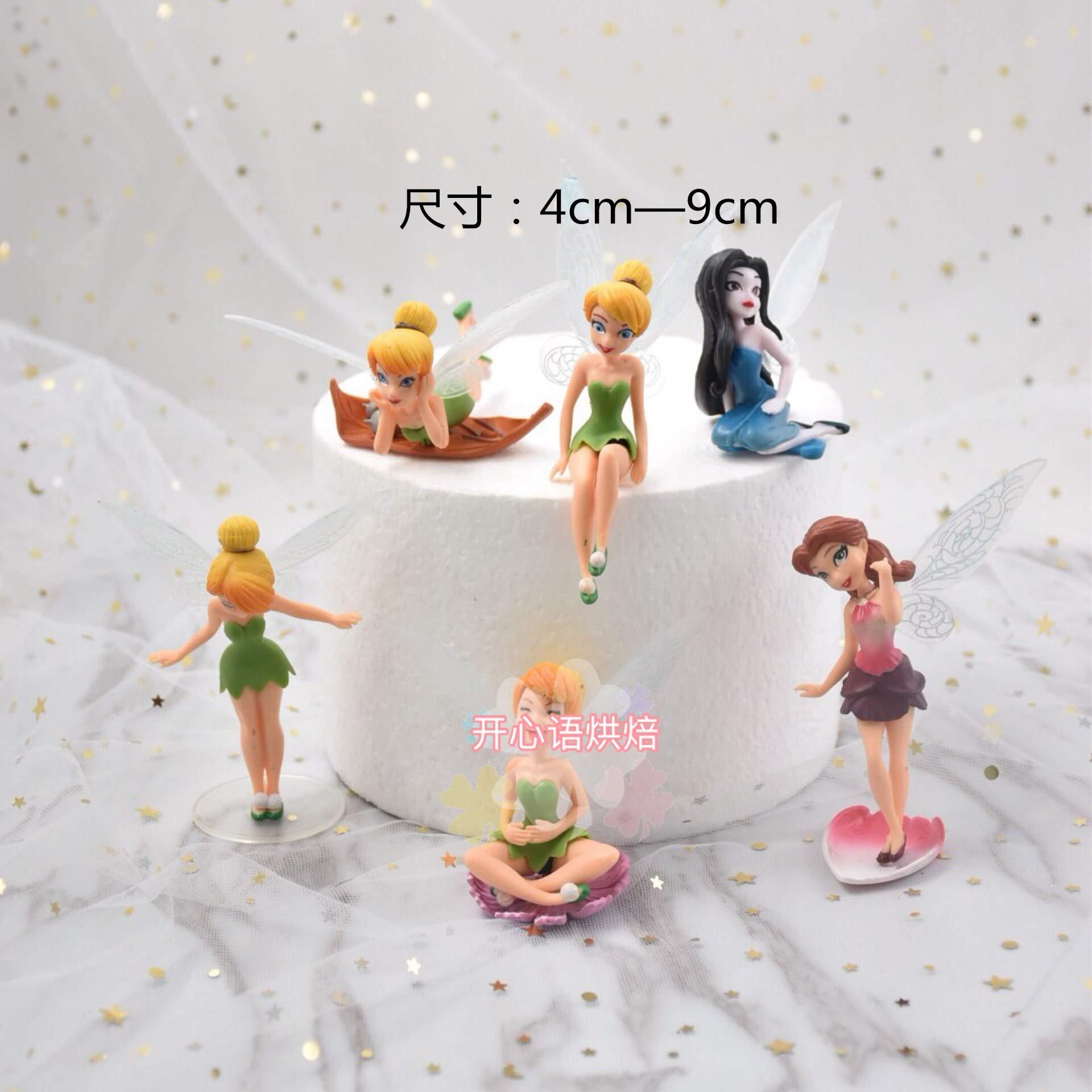 Xiaoma Baoli Baking Decoration Cartoon Scene Doll Model Doll Child Birthday Card Insertion Decoration Cake Flower Fairy
