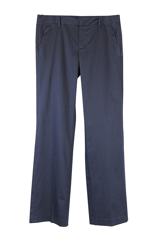 Tommy Hilfiger Women's Navy Flat Front Pants