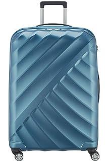 good texture huge discount save off 2-tlg. Hartschalen-Kofferset aus Polycarbonat SCHWARZ L + M ...