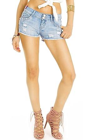 Zerrissene jeans shorts damen