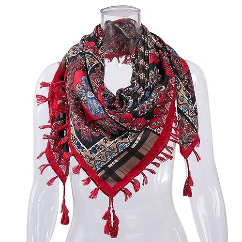 WanYang Bufanda De Mujer De Poco Peso Multifunción Otoño Invierno Bufandas Suave Scarves Elegantes R...