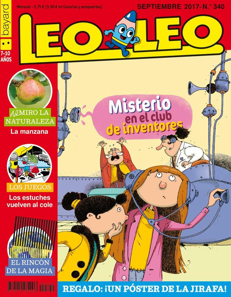 Leo Leo. Misterio en el club de inventores - Número 340: Amazon.es: Vv.Aa.: Libros