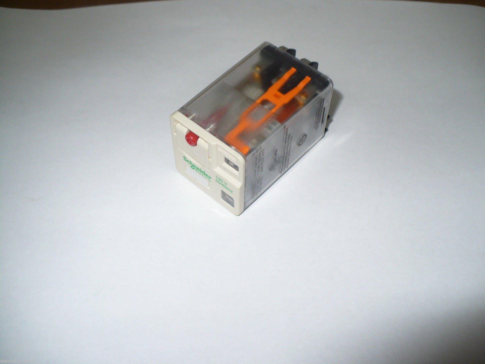 Schneider Electric RUMF3AB2F7 Plug-In Universal Relay, 120V, 10A,