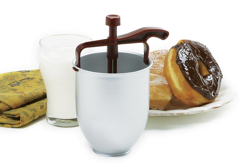 Norpro New Batter Dispenser Drop Donut Pancake Maker 2 Cups 16 Ounces 7