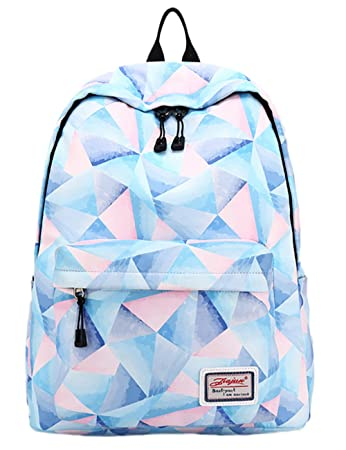 Backpack for teens fashion geometric pattern backpack college bags backpack for teens fashion geometric pattern backpack college bags women daypack travel bag by leaper fandeluxe Choice Image