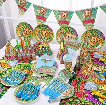 MAGRF Rey león Lindo Feliz cumpleaños niños Fiesta ...