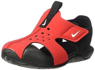 e049aec708ff9 Amazon.com   Nike Sunray Protect 2 Sandal Kids Red/Black 943827-601 ...
